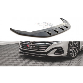 Przedni Splitter / dokładka ABS (wer.2) - Volkswagen Arteon R-Line Facelift
