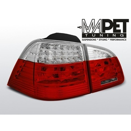 BMW E61 Touring Red / White Led  Diodowe paski LDBME0