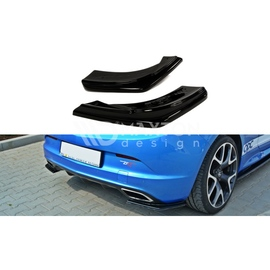 Splittery Boczne Tylnego Zderzaka ABS - Opel Astra J OPC / VXR  2009 -