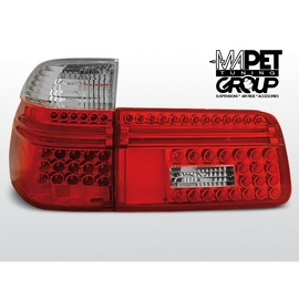 BMW E39 Touring Kombi  CLEAR RED/WHITE  LED diodowe LDBM55
