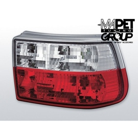 Opel Asta F  Hatchback clearglass  red / white  LTOP22