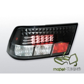 Opel Calibra - clearglass LED black - diodowe  LDOP03