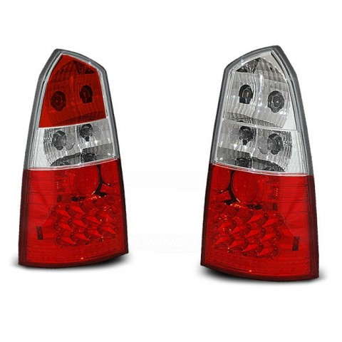 Ford Focus 1 Kombi -  clearglass red/white LED - diodowe LDFO02