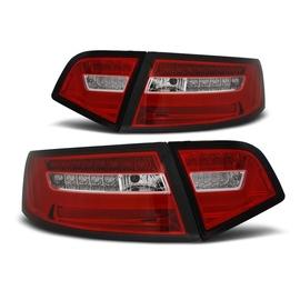 Audi A6 C6 Sedan 08-11 - Red / White Led - Diodowe Dynamiczny kierunek LDAUF2