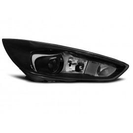 Ford Focus mk3 2014- BLACK Tube Light LED diodowe   LPFO77