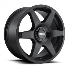 Felgi Rotiform SIX - 18x8,5 Black Matt - Czarny Mat