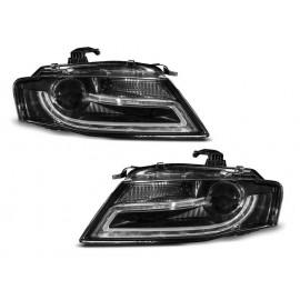 Audi A4 B8 - H7 - Black DayLight LED DRL światła jazdy dziennej LPAUD0