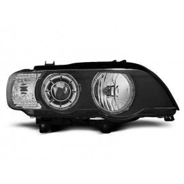 BMW E53 X5 - BLACK Angel Eyes Ringi LED diodowe H7  LPBMD2