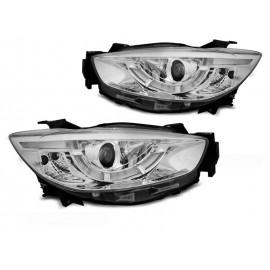 Mazda CX5 11-15  - LED CHROM DRL dzienne diodowe LPMA10