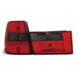 BMW E34 Touring CLEAR RED / BLACK czerwono-czarne LTBM59