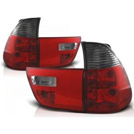 BMW X5 E53 clearglass Red/Black LTBM42