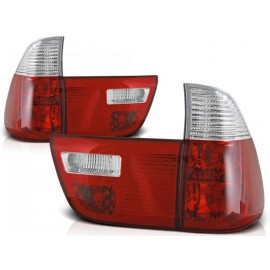 BMW X5 E53 Clear Red/White LTBM44