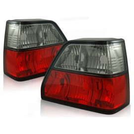 VW Golf 2  clearglass RED BLACK  LTVW81