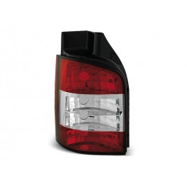 VW T5 Caravelle / Multivan Clear RED WHITE LTVW76 KLAPA