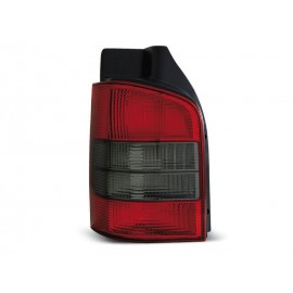 VW T5 Caravelle / Multivan Clear RED BLACK LTVW91 KLAPA