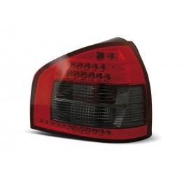 Audi A3 8L  clearglass Red/Black LED czerwono-ciemne LDAU42