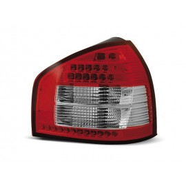 Audi A3 8L  clearglass Red/White LED czerwono-białe LDAU41