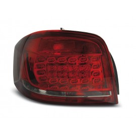 Audi A3 8P 3D Red Smoked LED diodowe 08-12 DEPO LDAUB7