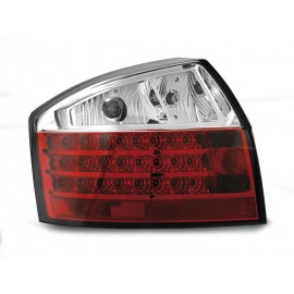 Audi A4 B6 Sedan - Clear Red/White Led - Diodowe LDAU27
