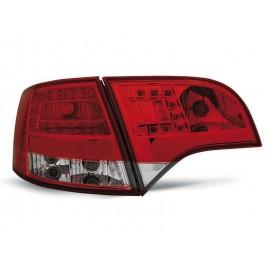 Audi A4 B7 Avant - Red / White Led - Diodowe LDAU37