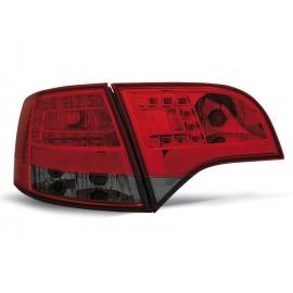 Audi A4 B7 Avant - Red / Black Led - Diodowe LDAU38