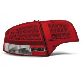 Audi A4 B7 Sedan - Clear Red/White Led - Diodowe LDAU53