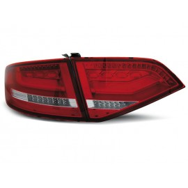 Audi A4 B8 Sedan - RED WHITE LED BAR - Diodowe LDAUA2