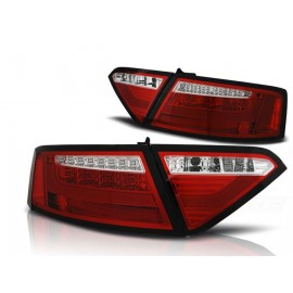 AUDI A5 Coupe - RED / WHITE LED BAR diodowe  LDAUE2