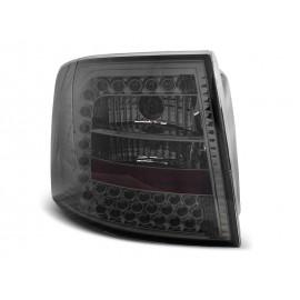 Audi A6 Avant  clearglass Black LED czarne LDAUB5