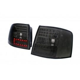 Audi A6 Avant  clear Black LED - Diodowe czarne dymione  DEPO LDAU44