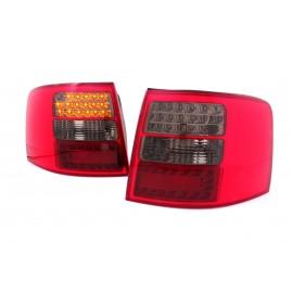 Audi A6 C5 Avant  Red/Black LED - Diodowe czerwono-czarne DEPO LDAU40