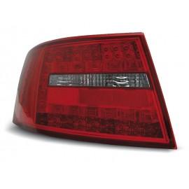 Audi A6 C6 Sedan - Clear Red / White Led - Diodowe LDAU63