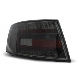 Audi A6 C6 Sedan - Clear Black Led - Diodowe LDAU75