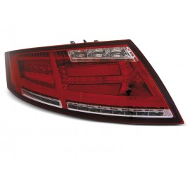 AUDI TT 8J 06-14 RED WHITE LED BAR dynamiczne kierunki LDAUD1