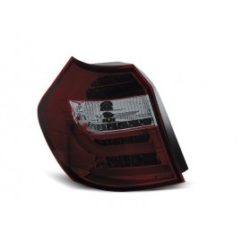 BMW E87 / E81 07-11 Smoked Red LED BAR Diodowe LDBM88