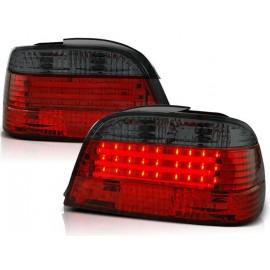 BMW E38 Sedan Clear White Red/Black Led Diodowe LDBM45