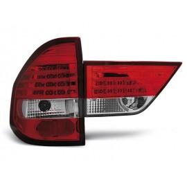 BMW X3 Clear Red/White Led Diodowe LDBM47