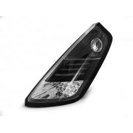 Fiat Grande Punto Clear Led Black - diodowe LDFI03