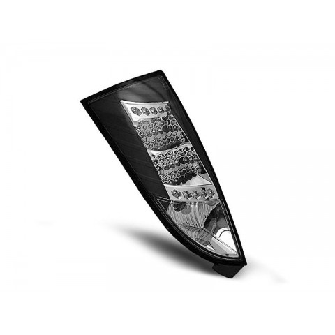 Ford Focus 1 -  clearglass Black LED - diodowe LDFO05