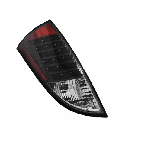 Ford Focus 1 -  clearglass Black LED - diodowe LDFO22
