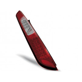 Ford Focus 2 04-08  red / white LED - diodowe LDFO27
