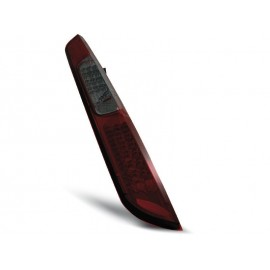 Ford Focus 2 04-08  smoked red LED - diodowe LDFO28