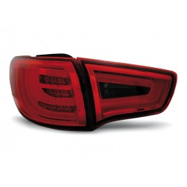 KIA SPORTAGE III 10- RED / BLACK LED BAR - diodowe - LDKI02