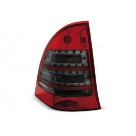 Mercedes C-klasa kombi (W203) red / smoke LED - DIODOWE  LDME63