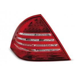 Mercedes C-klasa (W203) red / white LED - DIODOWE  LDME59