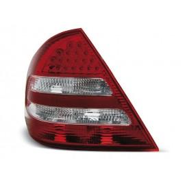 Mercedes C-klasa (W203) red / white LED - DIODOWE  LDME37