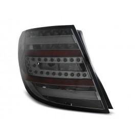 Mercedes C-klasa Kombi (W204) smoked black LED BAR - DIODOWE  LDME76