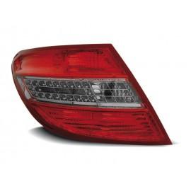 Mercedes C-klasa Sedan (W204) red / black LED - DIODOWE  LDME36