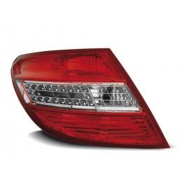Mercedes C-klasa Sedan (W204) red / white LED - DIODOWE  LDME35