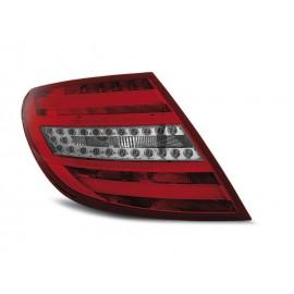 Mercedes C-klasa Sedan (W204) red / black LED BAR - DIODOWE  LDME64